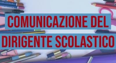 Comunicazione del Dirigente: Attivazione DAD scuola secondaria 12-13-14 Aprile